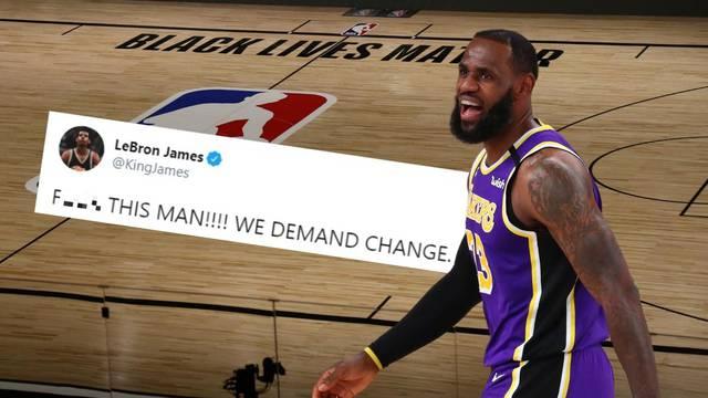 Prekid NBA lige! LeBron: J... ovo