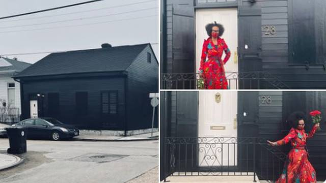 Crna kuća u SAD-u