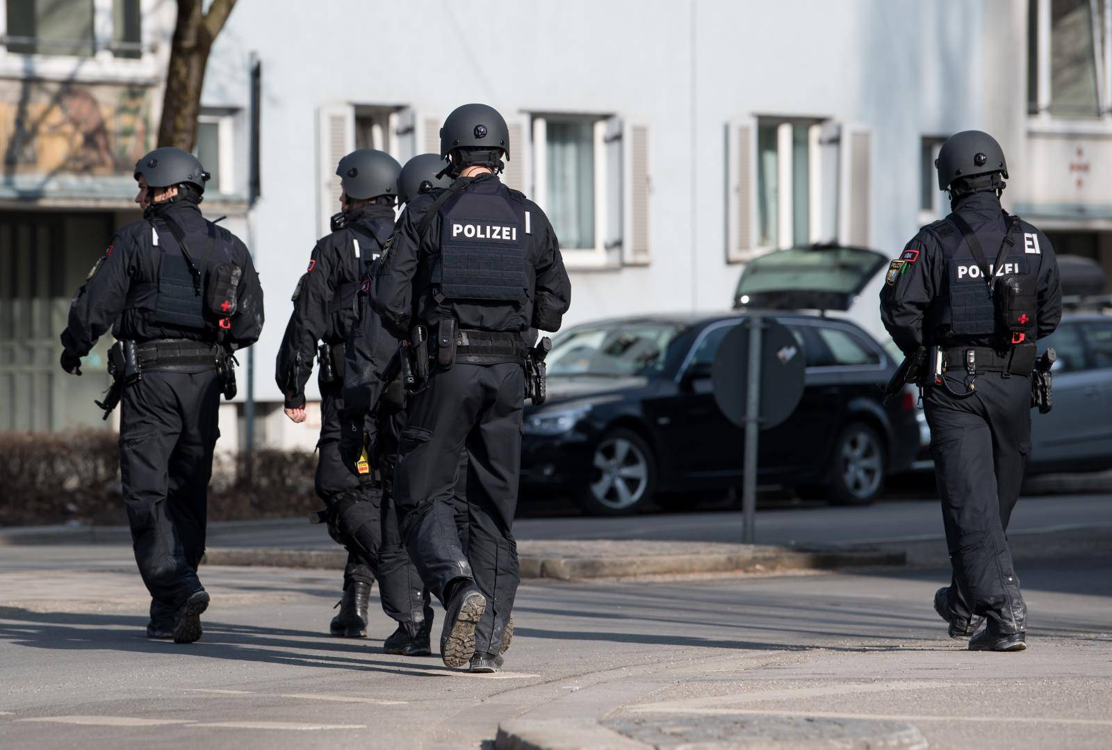 Two dead in shots on construction site in Munich