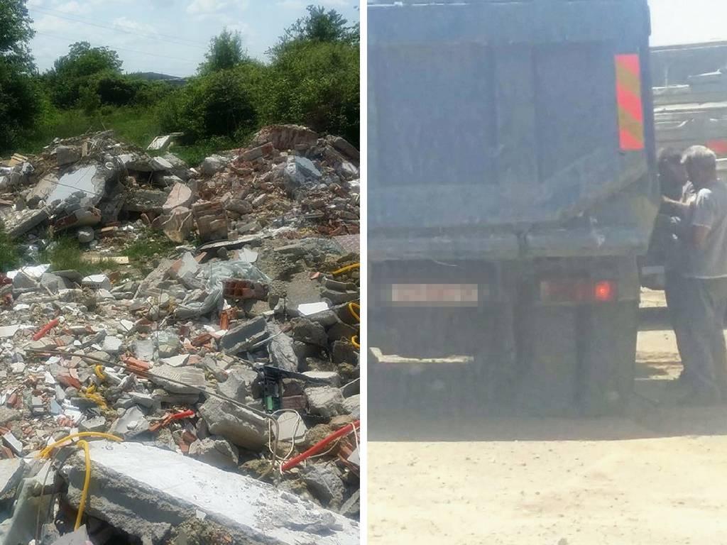 Uhvatili ih na djelu:  Nelegalno su odlagali na tone otpada...