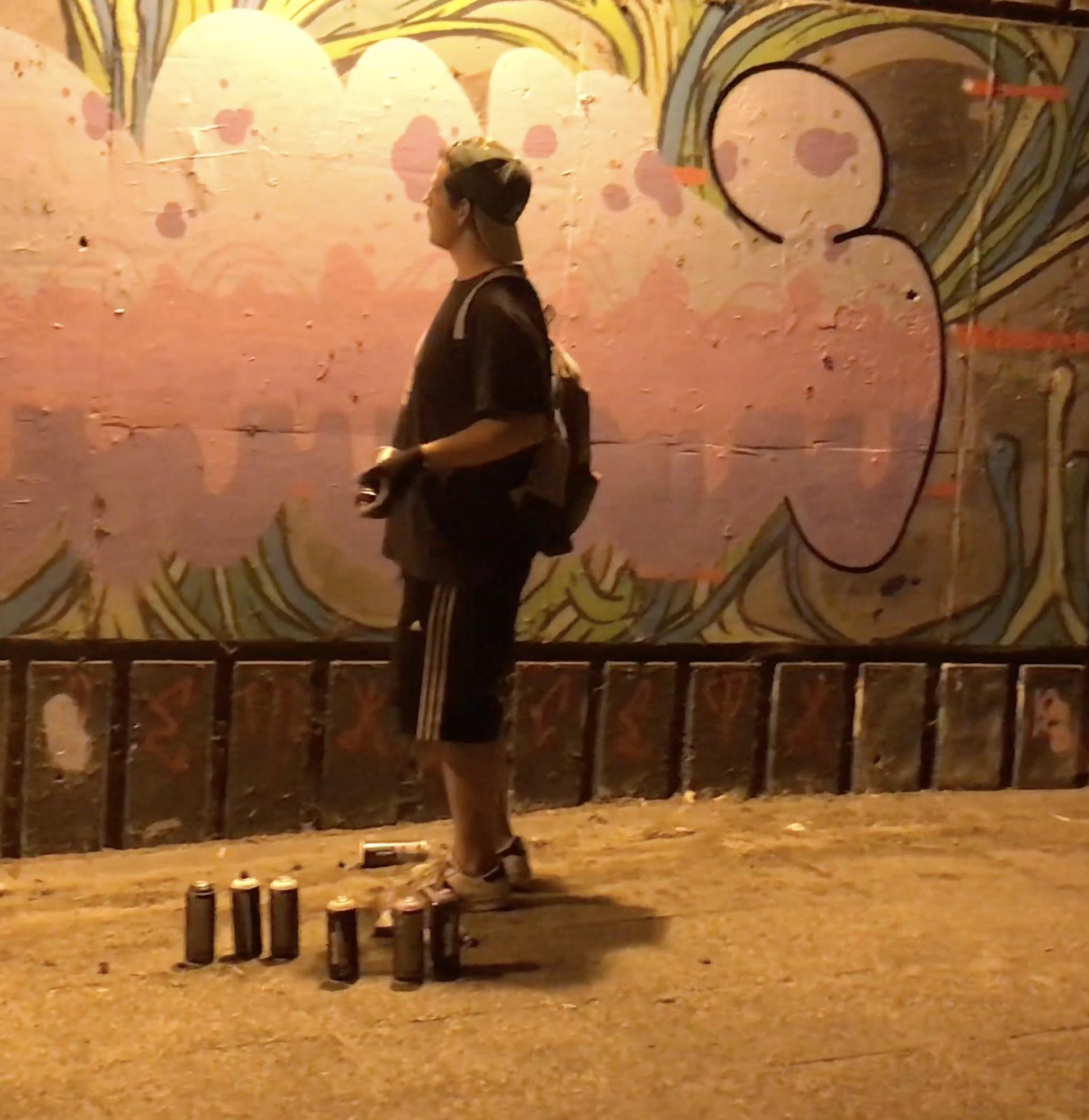 Švicarski turisti su grafitima ukrasili glavni zagrebački rotor