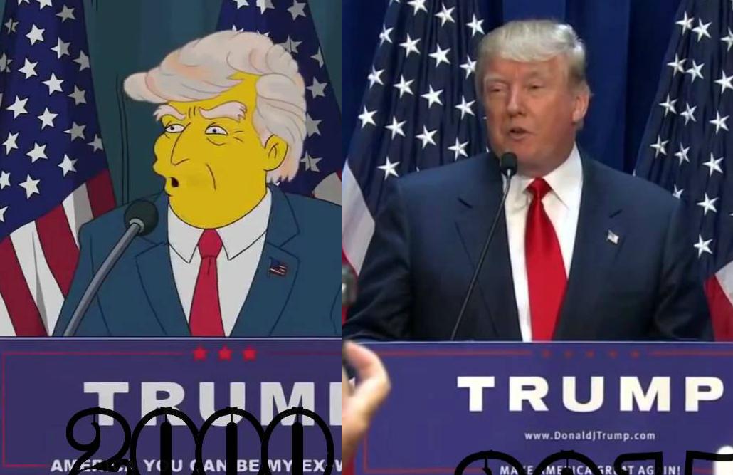 Jezivo proročanstvo: Simpsoni su predvidjeli Trumpov trijumf