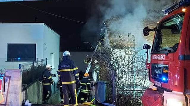 Izgorjela im obiteljska kuća u Krapini: 'Prvo sam čula sirene, majka je izvukla brata van...'