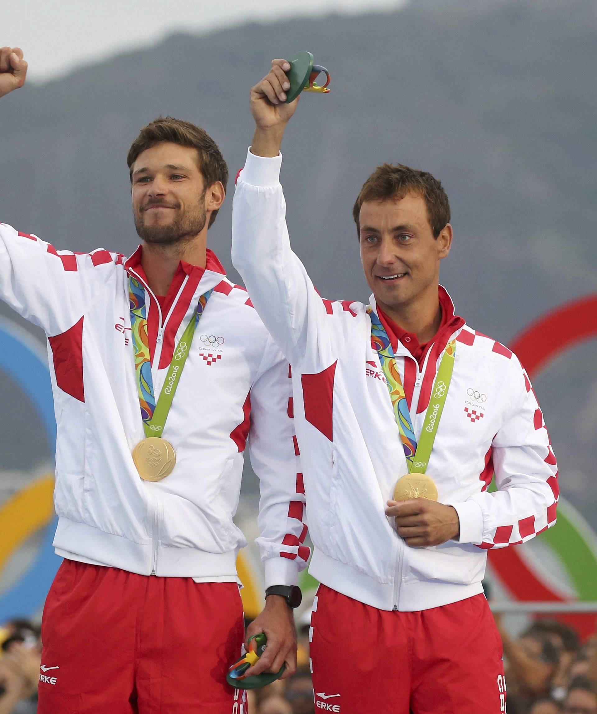 Sailing - Men's Two Person Dinghy - 470 - Victory Ceremony