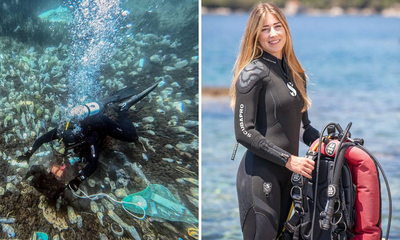 Ekoaktivistica Klara: U moru na pet metara dubine plivalo je smeće, morala sam nešto učiniti