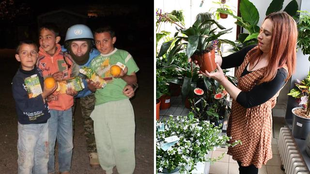 Vojne čizme i pušku zamijenila je uzgojem cvijeća i povrća: Sretna sam jer radim što volim
