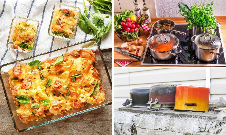 Stakleno posuđe je idealno za pripremu hrane, a kod inoksa i emajla treba paziti na oštećenja