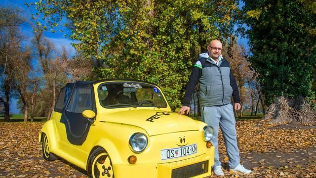 Timaritelj s Fićom: 'Moj Žućo je čudo, na njemu sam učio voziti'