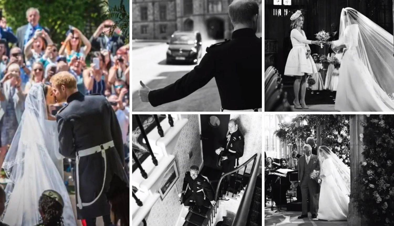 Procurile privatne fotografije s vjenčanja Harryja i Meghan...