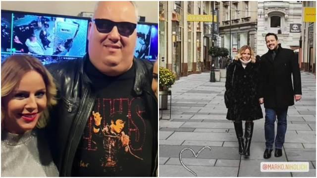 Ana Bučević uživala u zagrljaju srpskog glazbenika pa opušteno plesala u narodnjačkom klubu