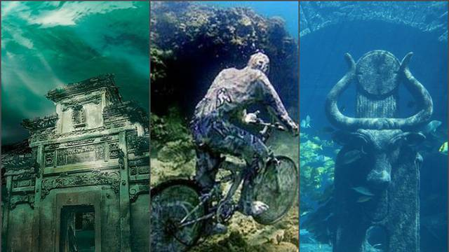 Kao vremenska kapsula: Pod vodom stoji zaboravljeni grad