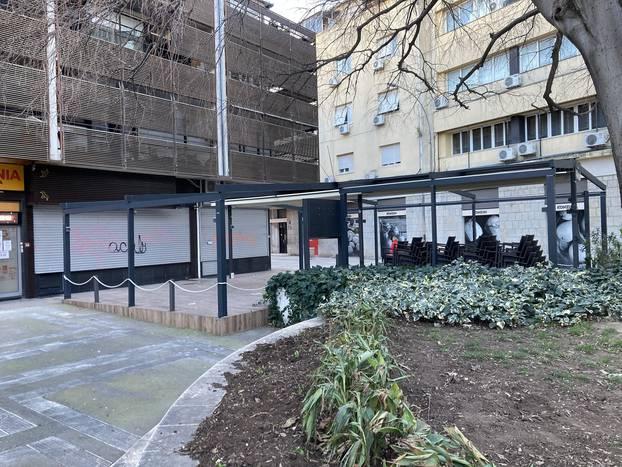 Mjere popustile, ali su u centru Splita skoro svi kafići zatvoreni
