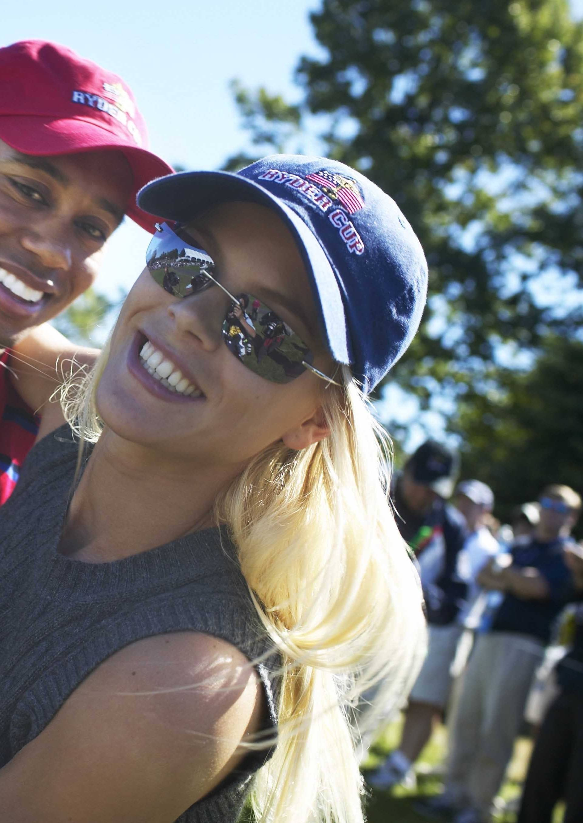 USA, Ryder Cup, Tiger Woods and Elin Nordegren