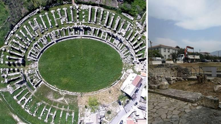Solin se zbog kamenih blokova kod amfiteatra žalio ministrici