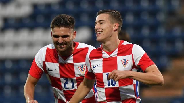 Hrvatska U21 reprezentacija u Varaždinu u kvalifikacijama za EP igra protiv Norveške
