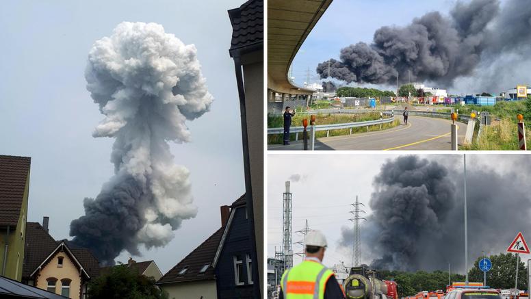 Eksplozija u Leverkusenu: 16 ljudi je ozlijeđeno, 4 teško. Jedan je poginuli, pet nestalih
