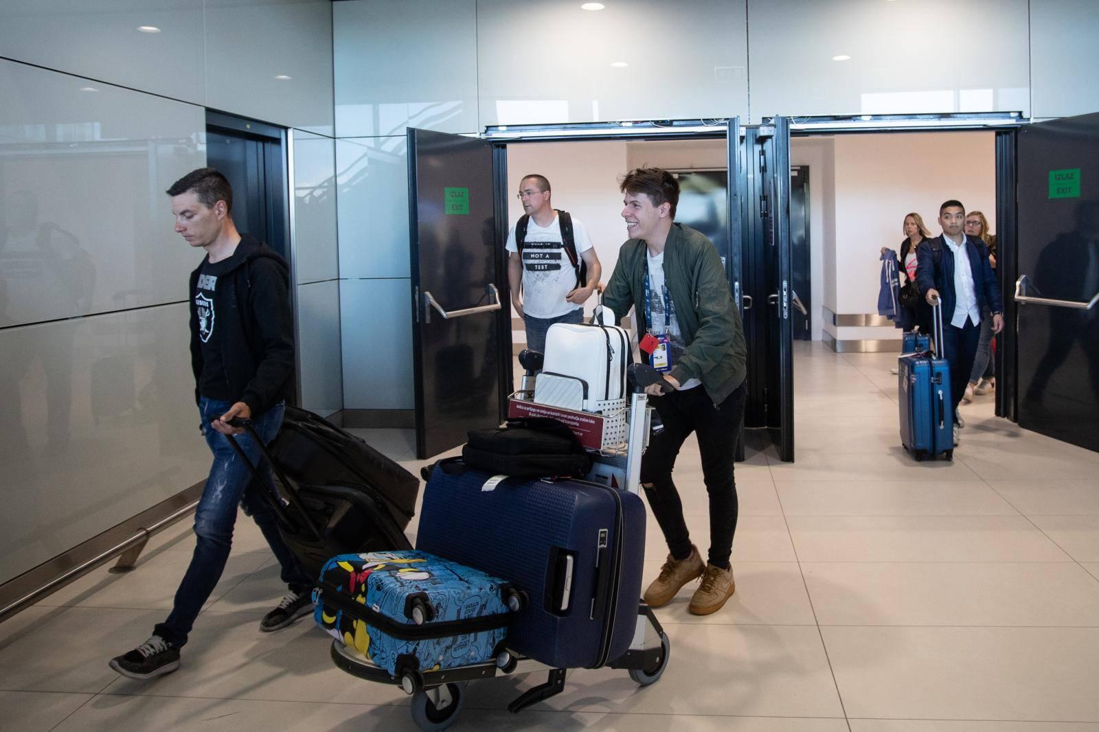 Roko se našalio nakon leta: 'Jacques me ostavio u Varšavi'