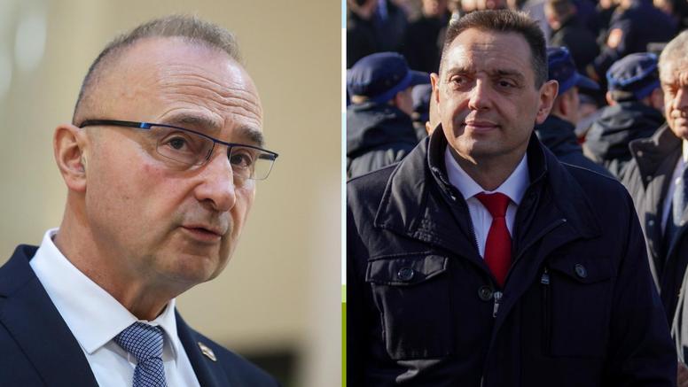 """Vulin odgovorio Grlić Radmanu da """"srpski svijet"""" nije poziv na sukobe"""