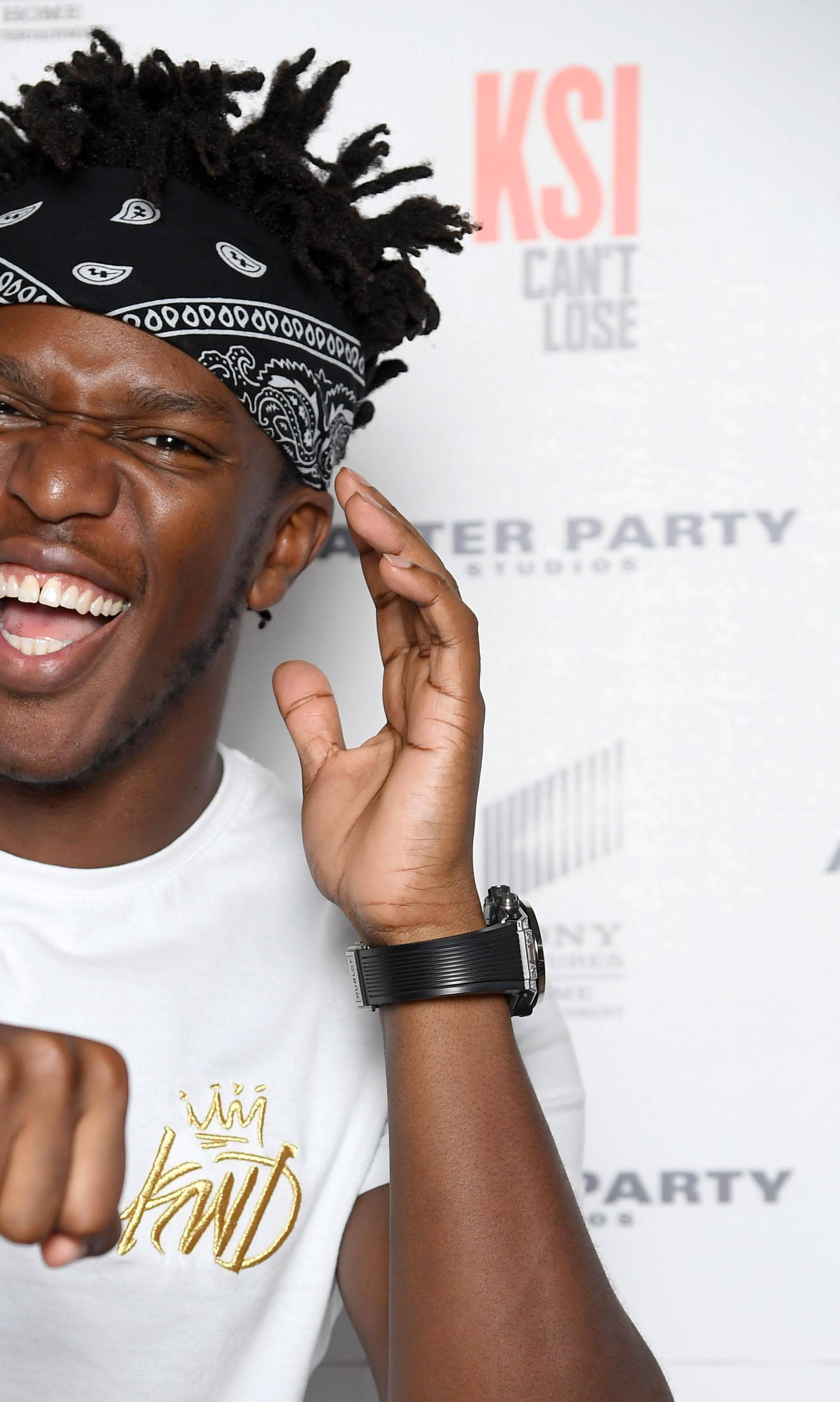'KSI: Can't Lose' Documentary World Premiere - Arrivals