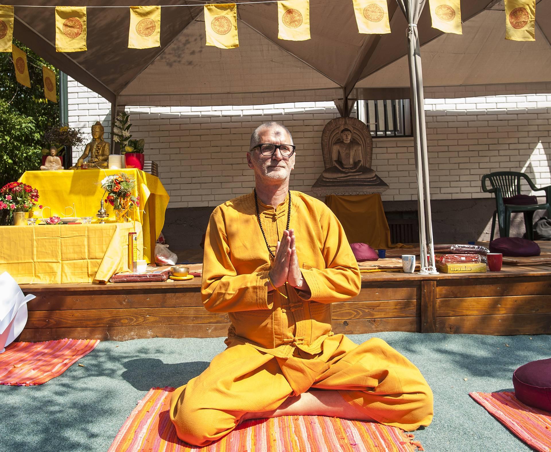 Postao potpredsjednik centra: Roker Gile sada moli i meditira