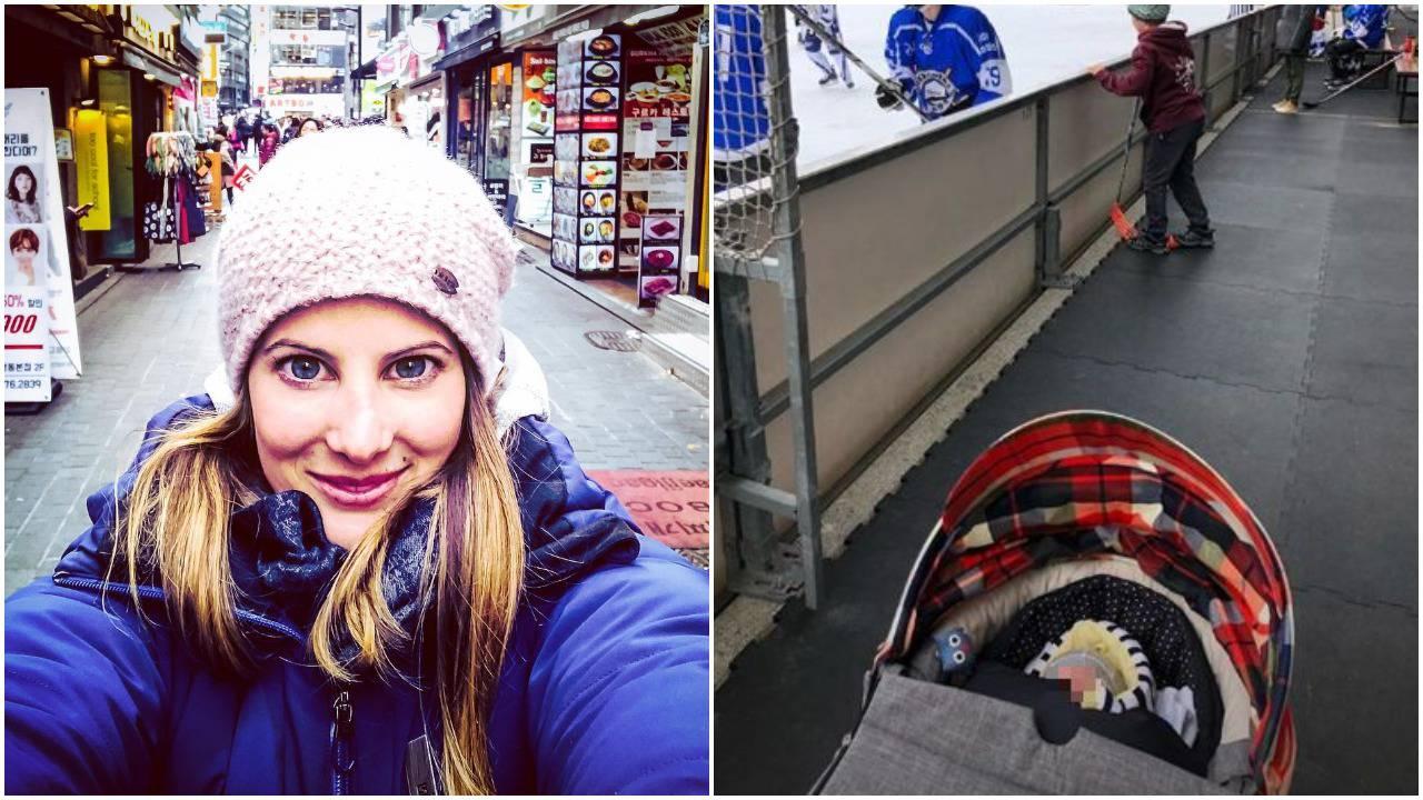 Ana Jelušić izvela kćer Ninu u šetnju dva tjedna nakon poroda