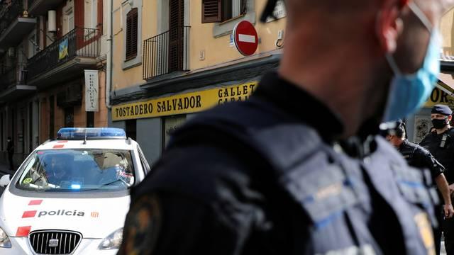 Anti-terrorism operation in Barcelona
