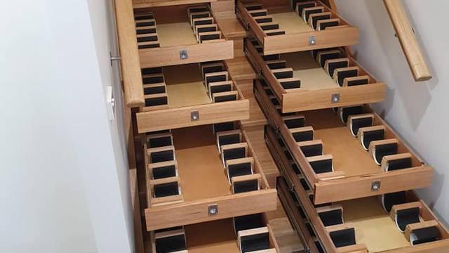 Odlična ideja za male prostore: Vinski podrum ugradio u stube