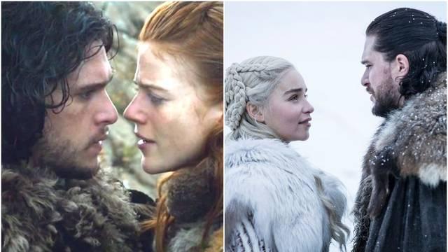 Dok se Snow ljubio s Daenerys, supruga 'divljakuša' ga gledala