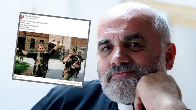 Pater koji je zaustavio policiju na Markovu trgu tijekom prosvjeda zazivao novi Bljesak