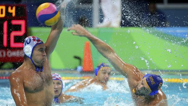 Water Polo - Men's Preliminary Round - Group B Croatia v Montenegro