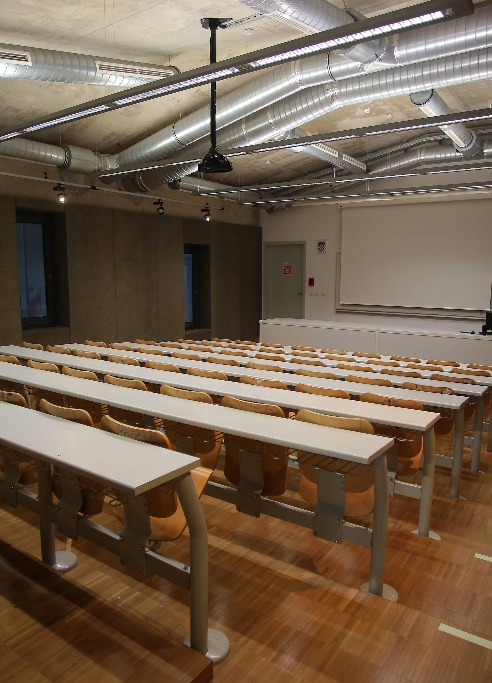 Prazan studentski kampus na Trsatu