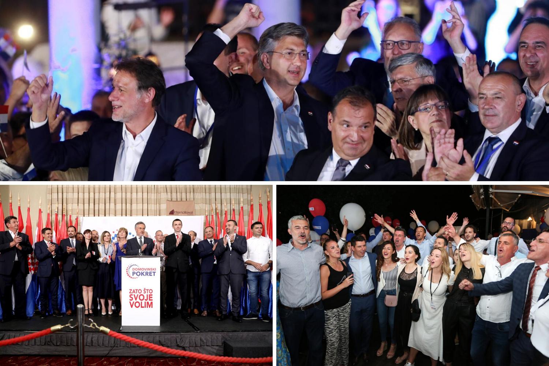 Korona party u izbornoj noći: Gdje je razmak, gdje su maske? Tko su sada bioteroristi?