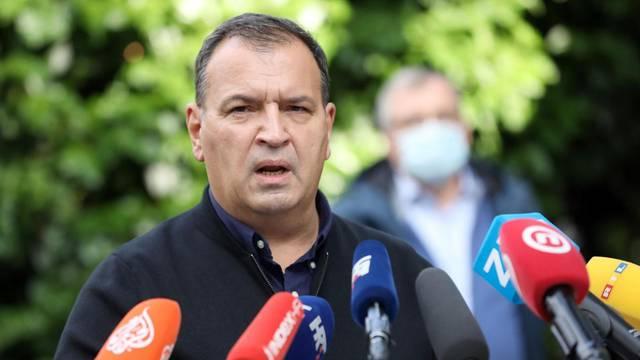 Zagreb: Stožer civilne zaštite RH na konferenciji predstavio nove mjere
