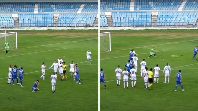 Gdje je fair-play? Protivnici su prosvjedovali kod suca, a oni izveli slobodnjak i zabili gol...