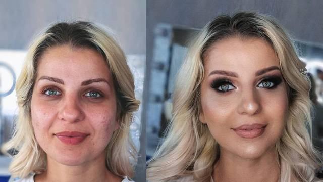 Nadia je pokazala 'pravo lice': Šminka napravi divu od žene
