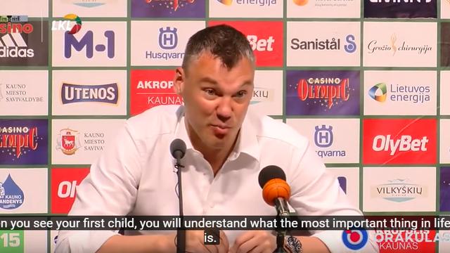 'Košarka je najvažnija?! E, kad budete imali djecu, vidjet ćete!'