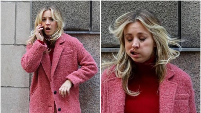 Ulovili je paparazzi: Penny je promrzla na cesti, izobličila se