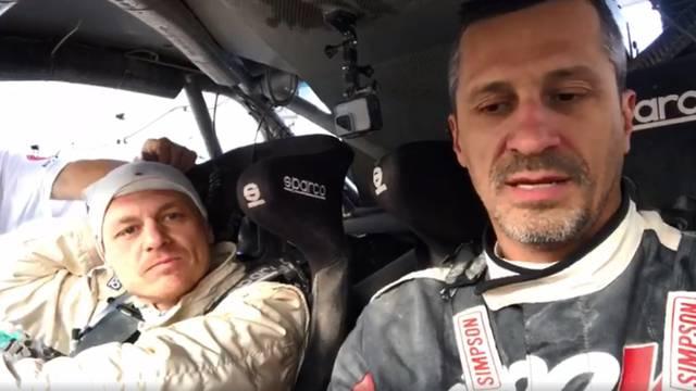 Nova drama za naše na Dakru: Ugasio im se motor na startu...