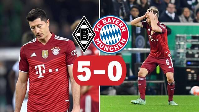 Die Katastrophe: Bayern primio petardu od Mönchengladbacha, to se nije dogodilo 43 godine!