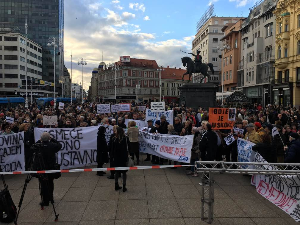 Zagrebački holding: 'Nismo ometali prosvjed protiv Milana'