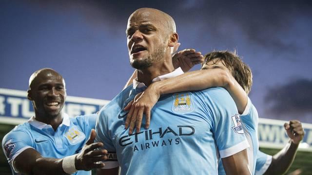 West Bromwich Albion v Manchester City, Barclays Premier League.