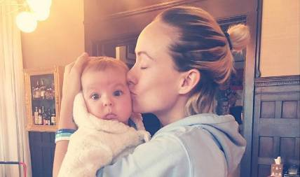 Olivia je objavila dirljivu 'fotku' kćeri, ali svi 'umiru' od smijeha