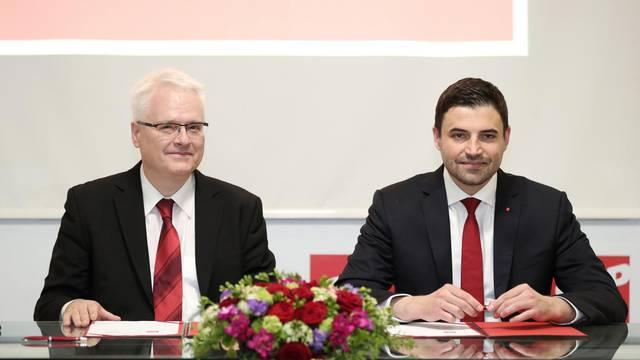 Potpisan sporazum o udruživanju i priključenju stranke Naprijed Hrvatska SDP-u