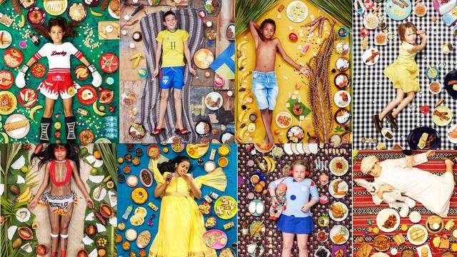 Slikao djecu po cijelom svijetu s hranom koju su jela tjedan dana - razlike su više no zapanjujuće