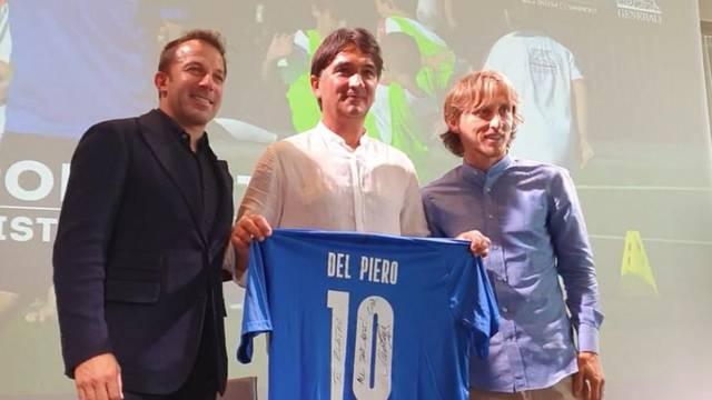Del Piero, Modrić i Dalić na otvaranju kampa: Mi Talijani smo navijali za vas na SP-u!