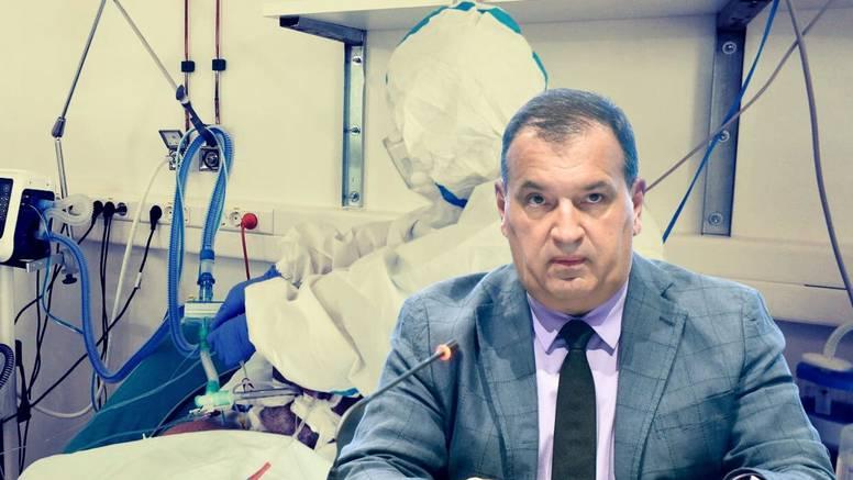 Vili Beroš: Od 117 ljudi koji su bili na respiratoru u zadnjih 10 tjedana, 110 ih se nije cijepilo