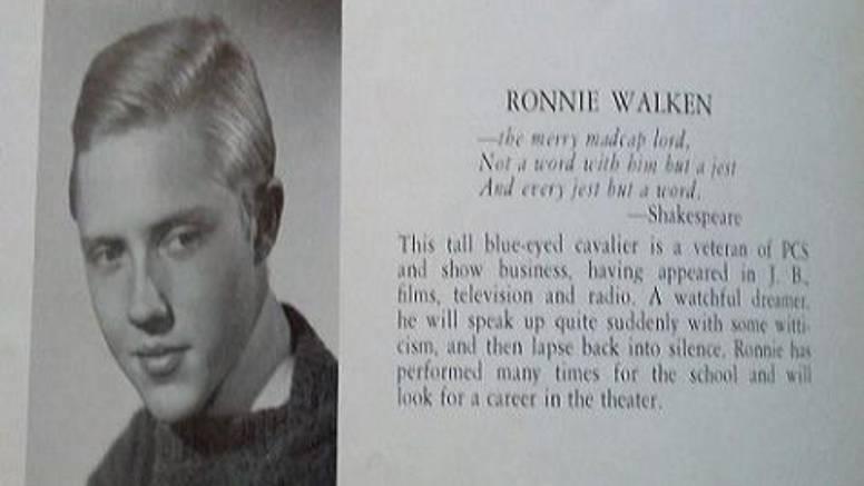 Ovako je Christopher Walken izgledao kao srednjoškolac