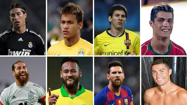 Nogometne zvijezde: Danas su ljepotani, a to nekada nisu bili
