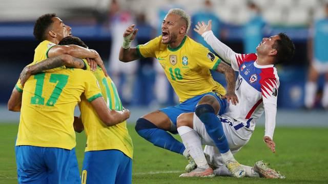 Neymar preživio 'batine', Brazil i Peru izborili su polufinale Cope