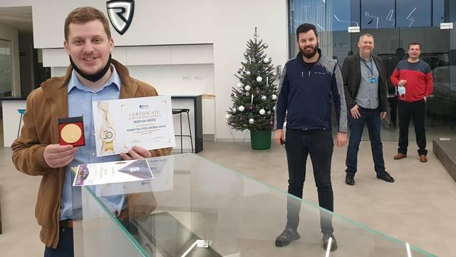 Mladi samoborski inovator u Sarajevu osvojio treće mjesto, nagradu mu uručili kod Rimca